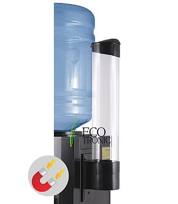 Держатель для стаканов Ecotronic на магните (черный)