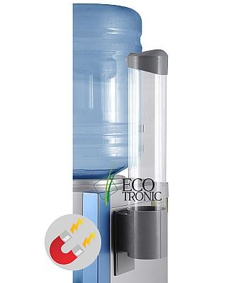Держатель для стаканов Ecotronic на магните (серый)