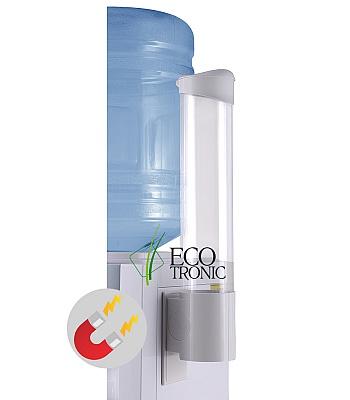 Держатель для стаканов Ecotronic на магните (белый)