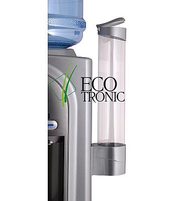 Держатель для стаканов Ecotronic на шурупах (серебристый)