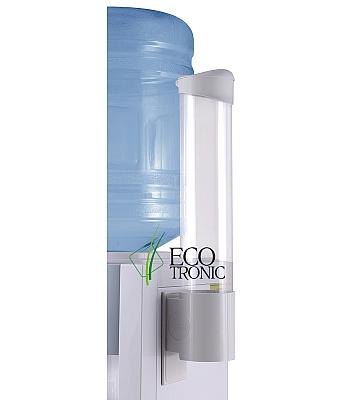 Держатель для стаканов Ecotronic на шурупах (белый)