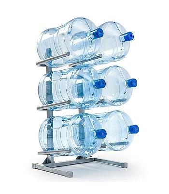 Подставка для 6-ти бутылей воды