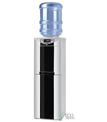 Кулер для воды Ecotronic C3-LFPM Black с холодильником