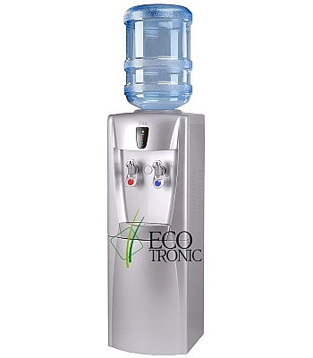 Кулер для воды Ecotronic G31-LCE Silver со шкафчиком