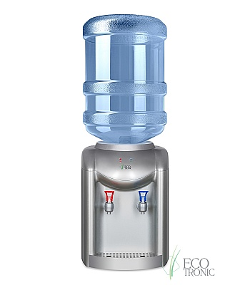 Кулер для воды Ecotronic K1-TE Silver настольный