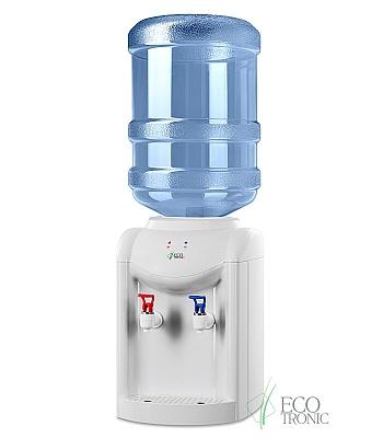 Настольный кулер для воды Ecotronic K1-TN White без охлаждения