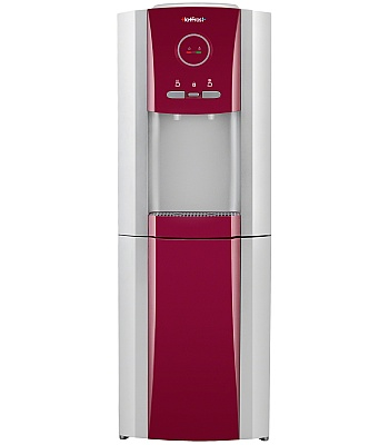 Кулер для воды HotFrost V730CES red со шкафчиком