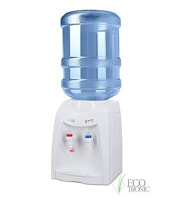 Кулер для воды Ecotronic K12-TE White настольный