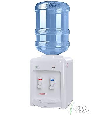 Кулер для воды Ecotronic V22-TE White настольный