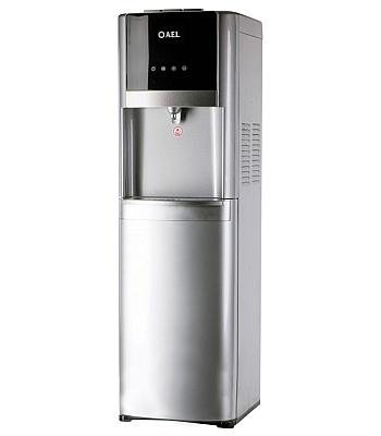 Кулер для воды AEL-809A LC Silver с нижней загрузкой
