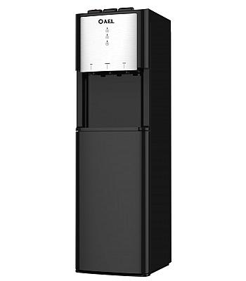 Кулер для воды AEL-811A LD Black с нижней загрузкой