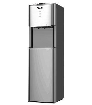 Кулер для воды AEL-811A LD Silver с нижней загрузкой