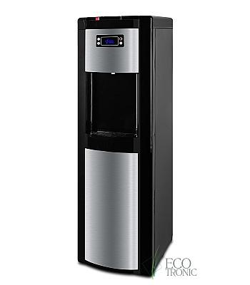 Кулер для воды Ecotronic P9-LX Black с нижней загрузкой