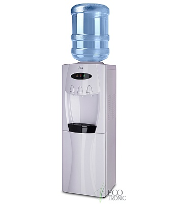 Кулер для воды Ecotronic G30-LCE White со шкафчиком
