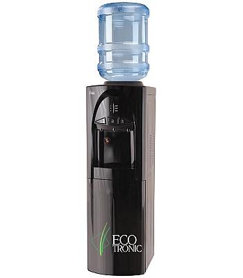 Кулер для воды Ecotronic C4-LCE Black со шкафчиком
