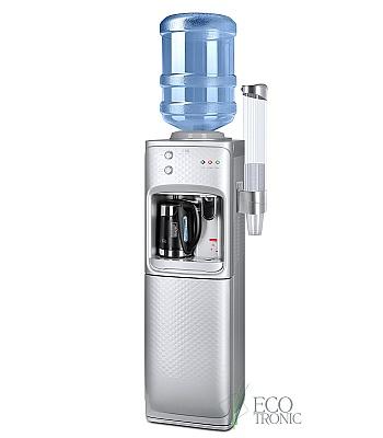 Кулер для воды Ecotronic M12-LSKE с нижней загрузкой и чайником