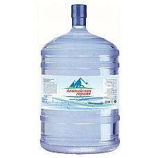 Вода Аланийская горная 19л