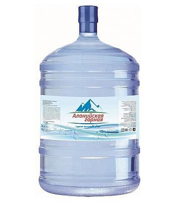 Питьевая минеральная вода Аланийская горная 19л