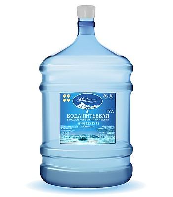 Вода высшей категории качества Акварояле 19л