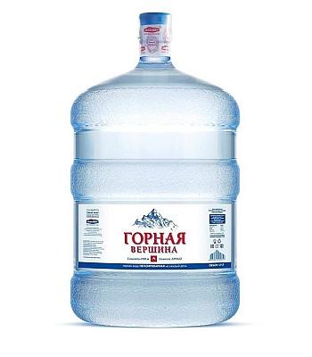 Питьевая минеральная вода Горная вершина 19л