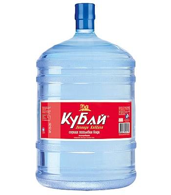 Горная питьевая вода Кубай 19л